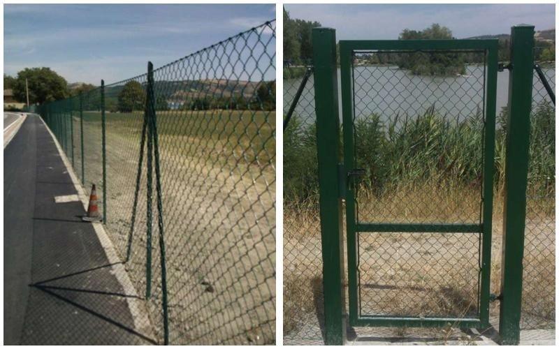 recinzione perimetrale