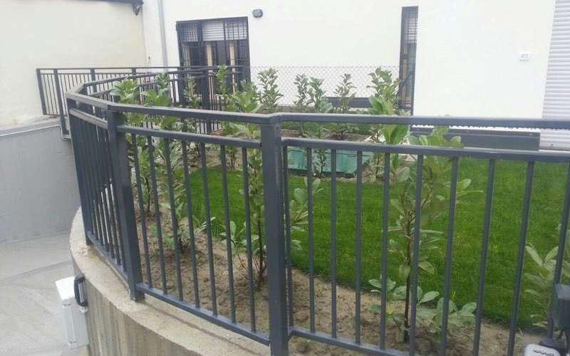 cancello perimetrale