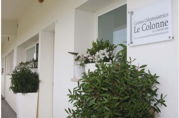 centro odontoiatrico particolare ingresso