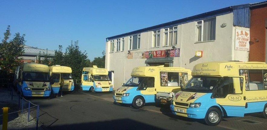 farmhouse ice cream vans