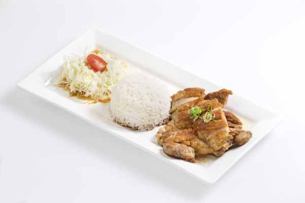 Chicken teriyaki lunch set