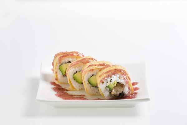Plum flower roll