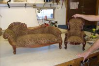 Mini chair and sofa cutom made in Cincinnati, OH