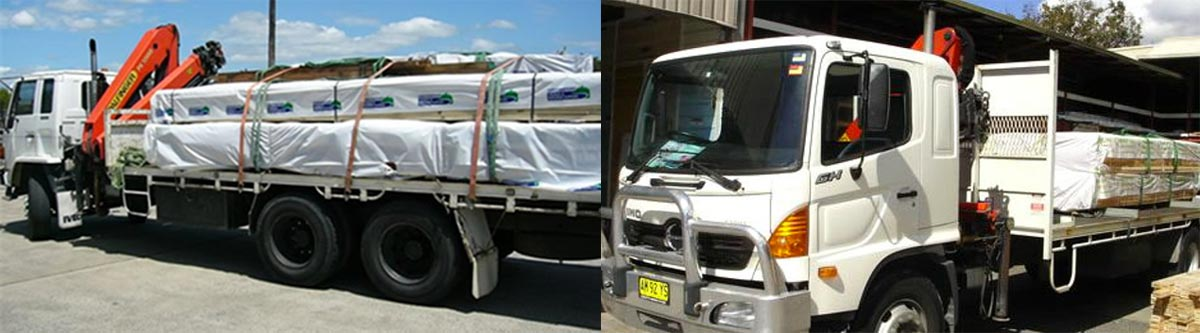 We Deliver Structural Timber Products Along The Gold Coast