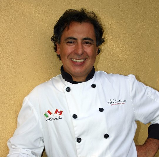 Chef Grande at La Cantina fine dining Italian restaurant