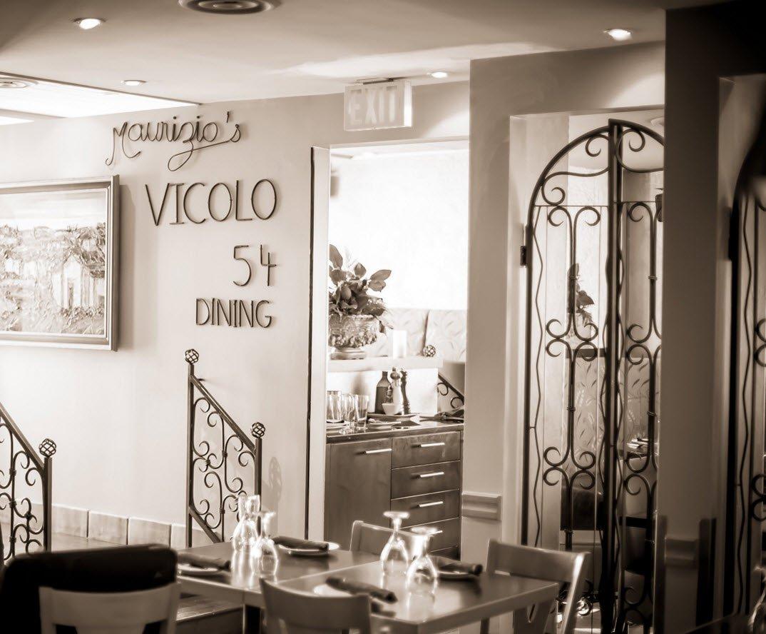 Hamilton fine dining Italian restaurant