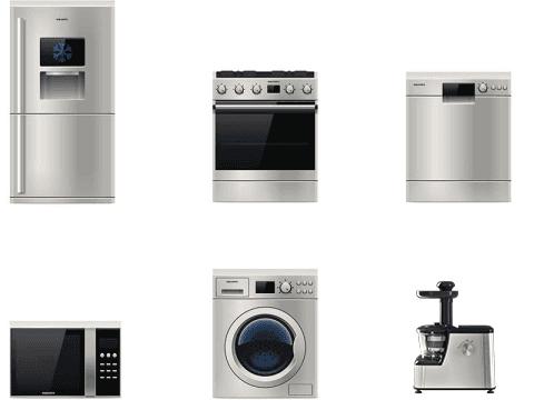 vendita grandi e piccoli elettrodomestici