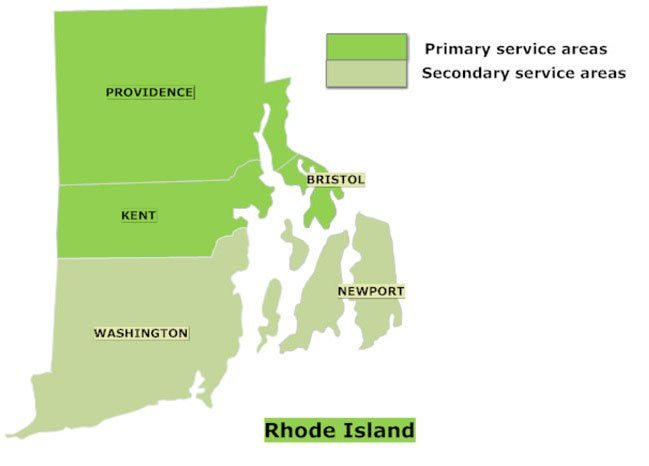 Massachusetts service areas