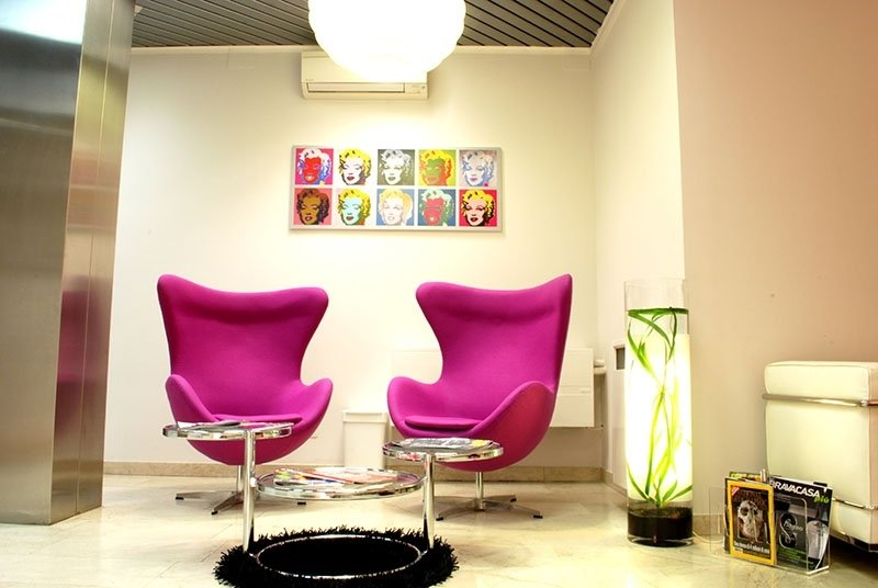 Sala d'attesa Studio Dentistico Foschi