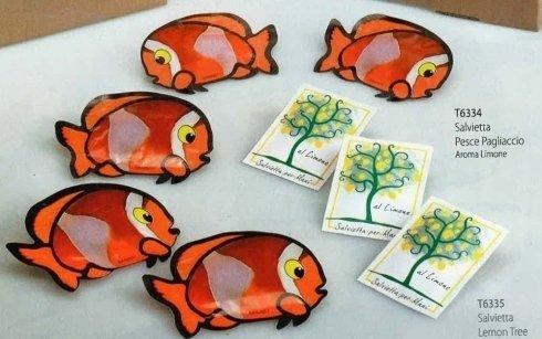 Salvietta pesce pagliaccio