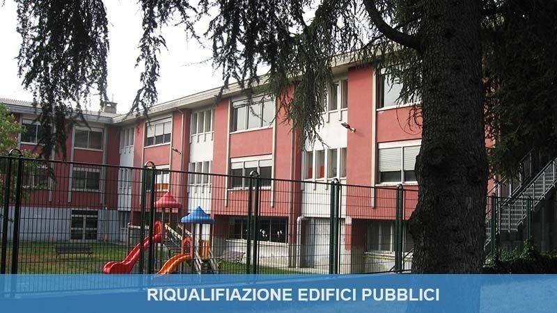 Riqualifiazione edifici pubblici
