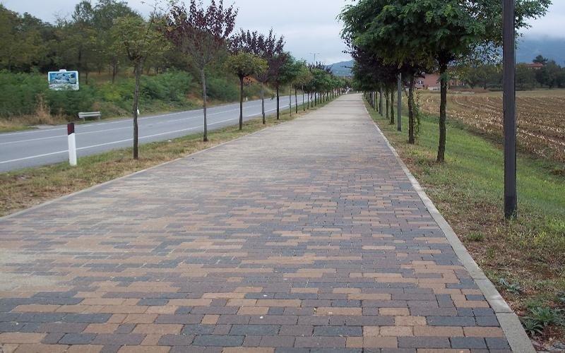 realizzazione marciapiedi