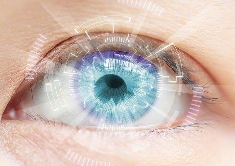 mappa dell'occhio