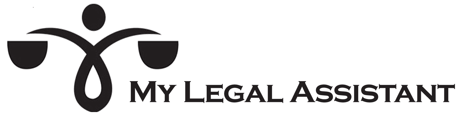 my legal assistant logo