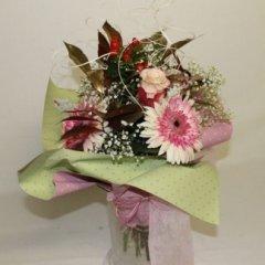 bouquet colori tenui