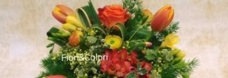 Composizioni floreali, creazione di giardini, fiori artificiali
