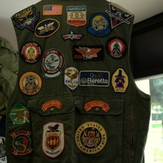 Toppe per Giacche Militari