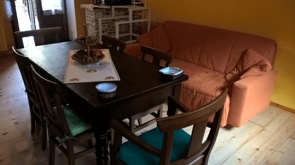 tavolo restaurato