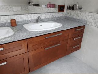 realizzazione bagno in legno