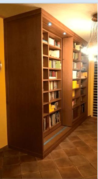 Libreria scorrevole