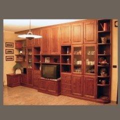 realizzazione mobili in legno per salotti