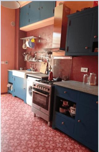 cucina laccata in vena