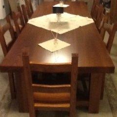 tavolo e sedie coordinate