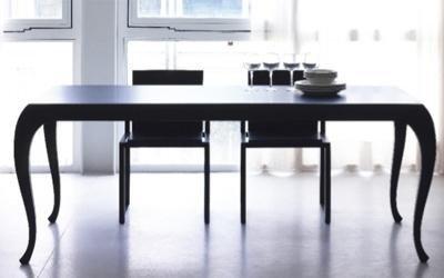 tavolo Timavo in wenge