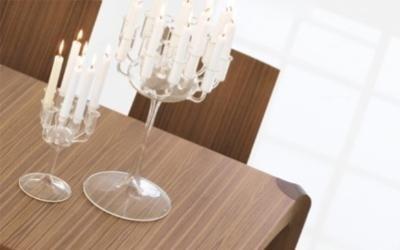 tavolo Kinesis allungabile con angoli smussati