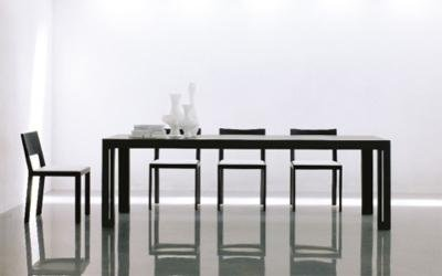 tavolo Miraggio con sedie