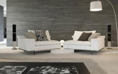 divano componibile bianco
