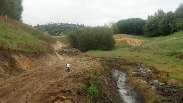 Excavation work in Bay of Plenty