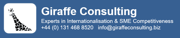 Giraffe Consulting Experts in Internationalisation & SME Competitiveness +44 (0) 131 468 8520