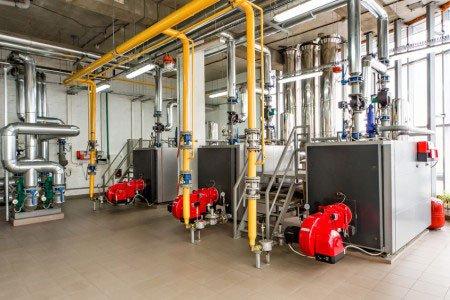 Centrale termica industriale ad Affi
