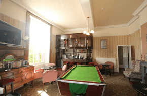 vintage style recreation room