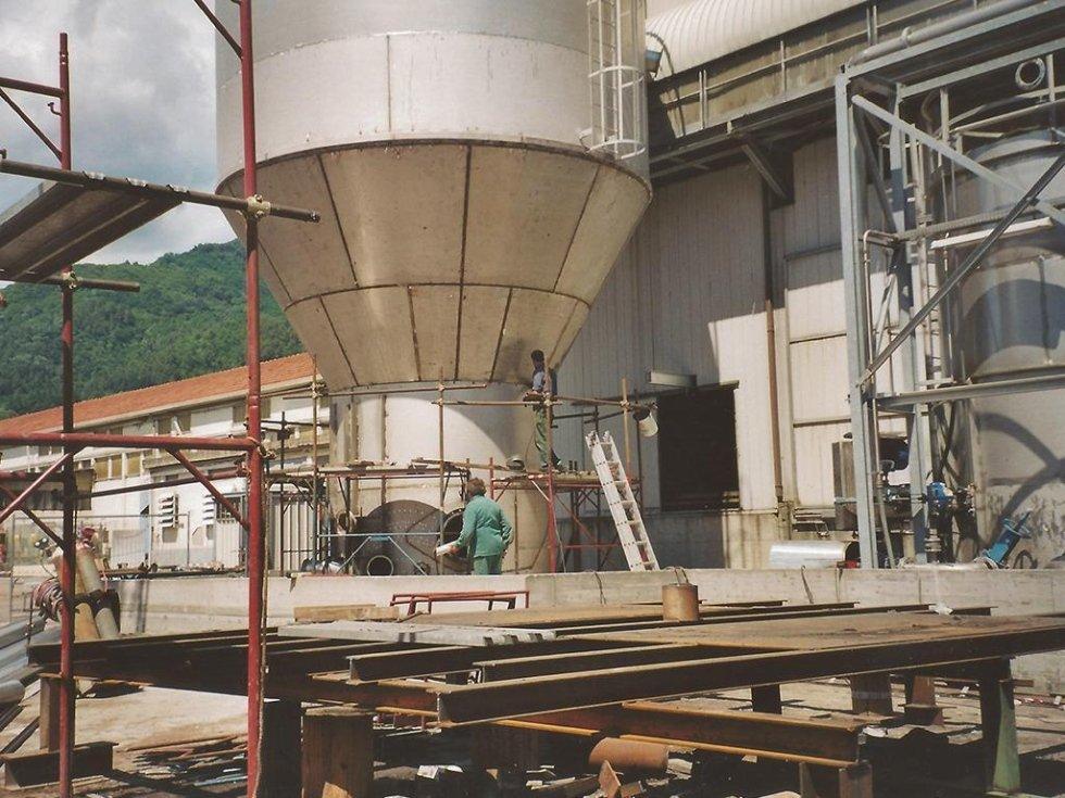 costruzione impianto