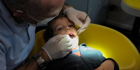 dott. Lucci con piccolo paziente