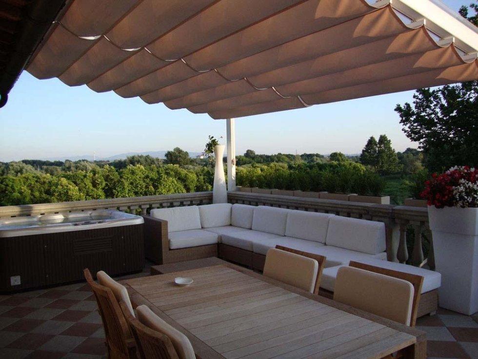Vendita gazebo pisa arredogarden srl - Strutture mobili per terrazzi ...