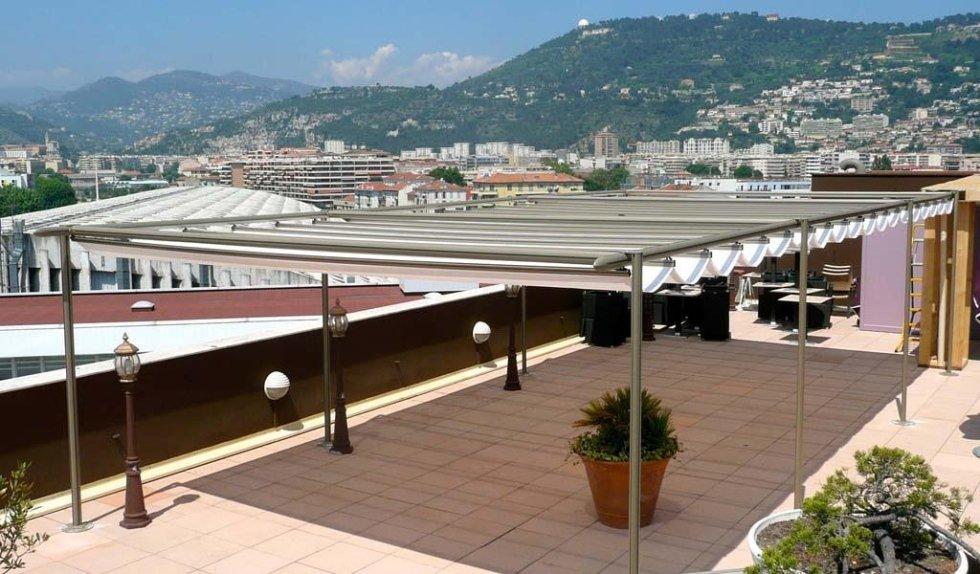 coperture in legno per terrazzi pisa