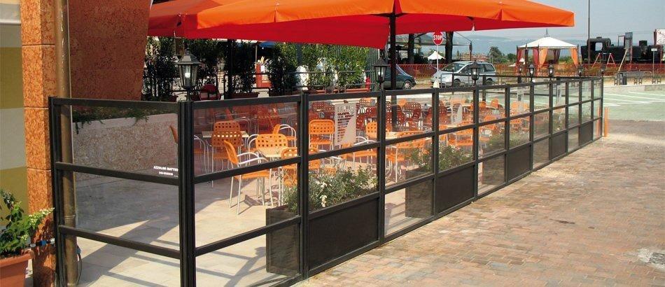 recinzioni in legno per ristoranti pisa