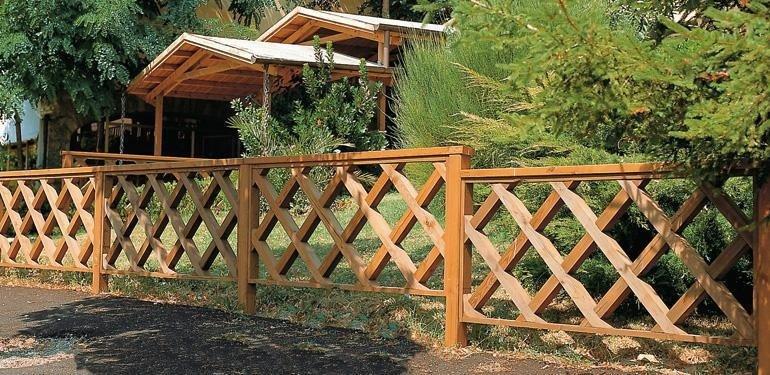 recinzioni in legno su misura Pisa