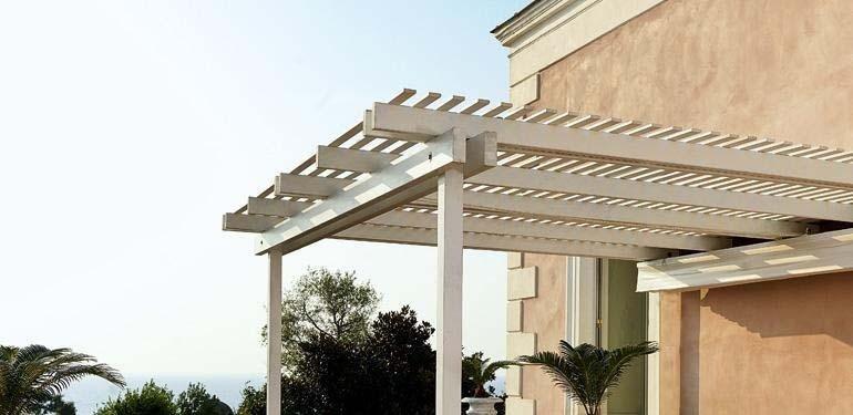 progettazione pergolati in legno pisa
