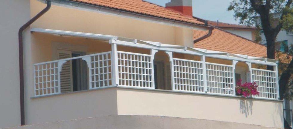 ringhiere per balconi pisa