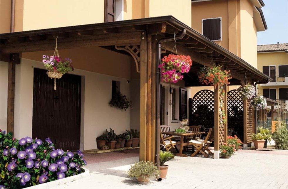 coperture in legno per esterni Pisa