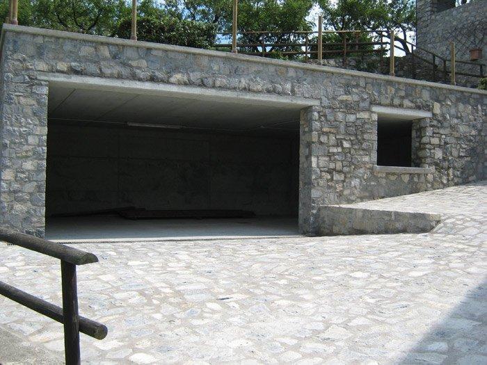 costruzione di un garage
