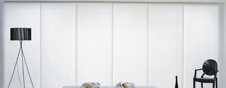 White vertical blinds in Newcastle