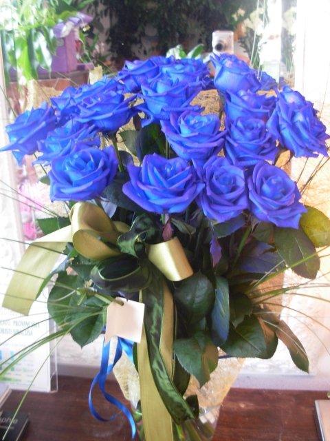 Mazzo 18 Rose Blu