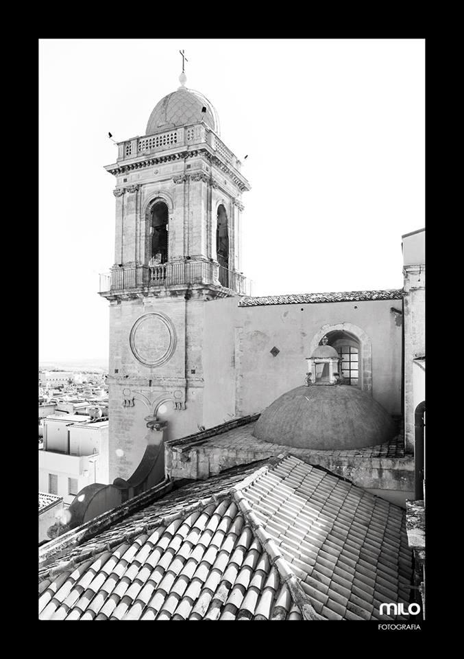 vista di un campanile