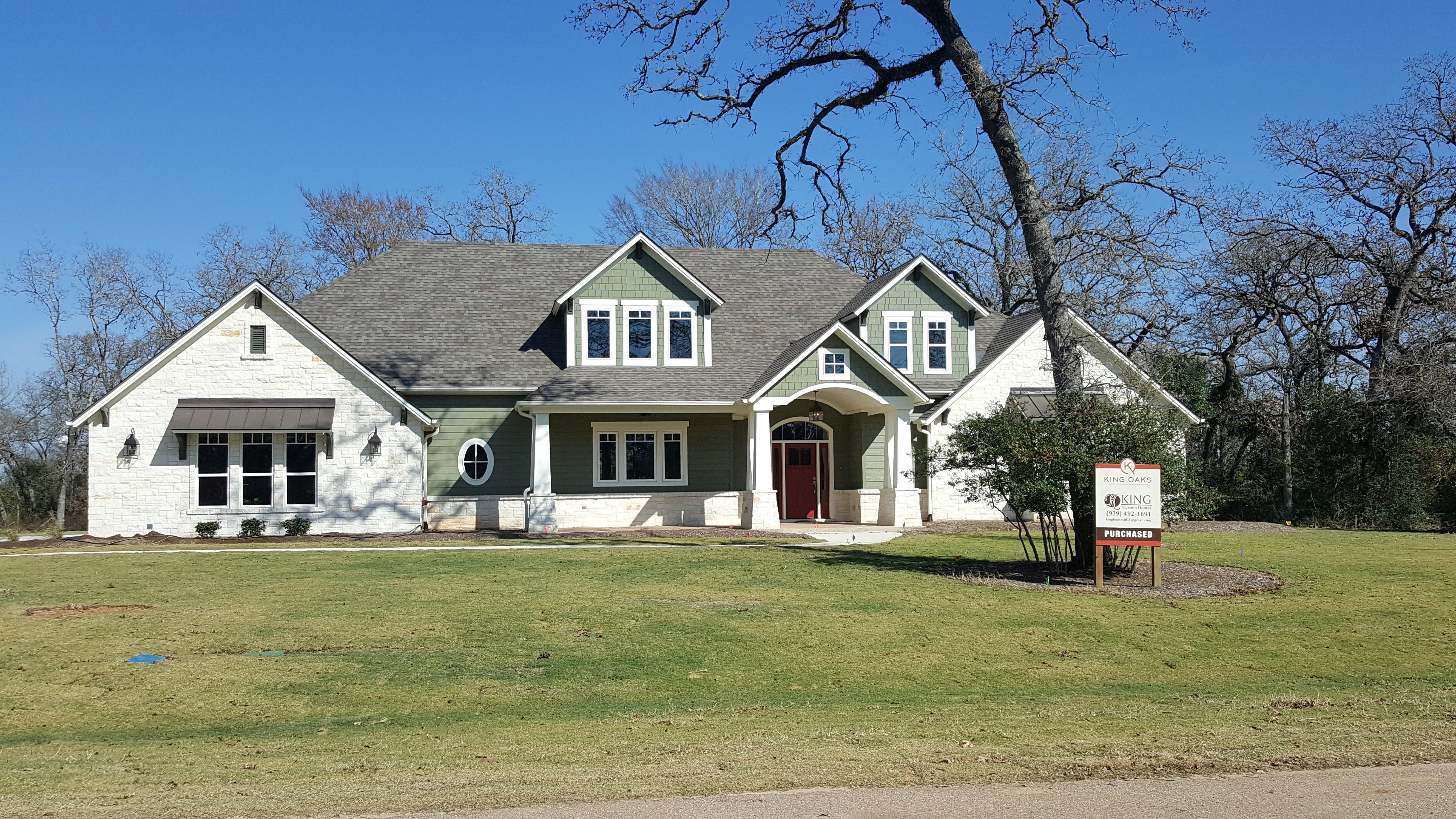 Custom Home Builder, College Station & Bryan, TX