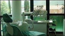 ambiente sterile in studio dentistico